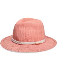 Maje - Braid-embellished Woven Straw Sunhat - Lyst