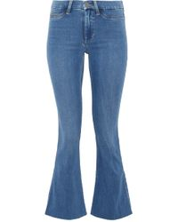 M.i.h Jeans - Marrakesh Mid-rise Kick-flare Jeans - Lyst