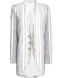 Vionnet - Embroidered Wool-blend Jacket - Lyst