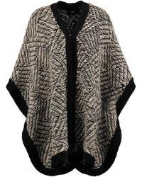 Line - Paulette Stretch-knit Cape - Lyst