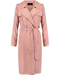 Line | Margaux Washed-twill Trench Coat | Lyst