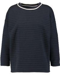 Petit Bateau - Padded Cotton-blend Sweatshirt - Lyst