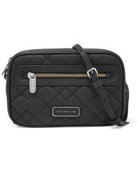 Marc By Marc Jacobs - Sally Quilted Textured-leather Shoulder Bag - Lyst