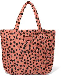Marc By Marc Jacobs - Crosby Quilted Printed Shell Tote - Lyst
