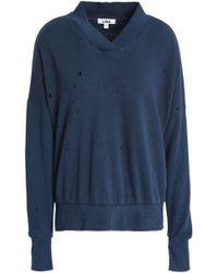LNA - French Cotton-terry Sweatshirt - Lyst