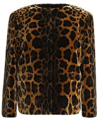 Dolce & Gabbana - Leopard-print Velvet Jacket - Lyst