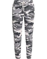 Splendid - Printed Jersey Track Pants - Lyst