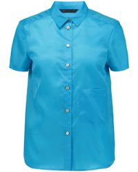 Marc By Marc Jacobs - Satin-twill Top - Lyst