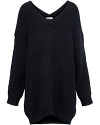 255660965fcb Lyst - Acne Studios Wham Mohair-blend Oversized Sweater in Black