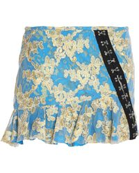 Marques'Almeida - Ruffled Embellished Embroidered Tulle Mini Skirt - Lyst