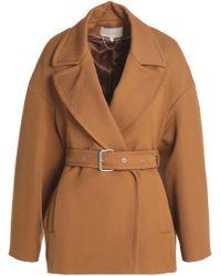 Vanessa Bruno - Belted Twill Jacket - Lyst