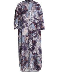 House of Dagmar - Greta Printed Jersey Dress - Lyst