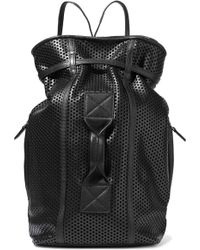 Jérôme Dreyfuss - Laser-cut Leather Backpack - Lyst