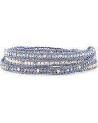 Chan Luu - Woman Bracelets Blue - Lyst