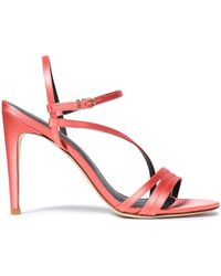 Tibi - Satin Sandals - Lyst