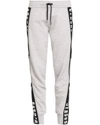 Versus - Printed Cotton-jersey Track Trousers - Lyst
