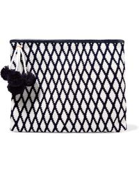 Sophie Anderson - Lia Crocheted Cotton Clutch - Lyst