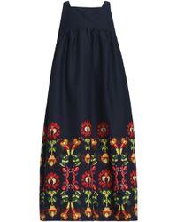 Stella Jean - Printed Twill Dress - Lyst