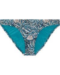ViX | Jakarta Low-rise Printed Bikini Briefs | Lyst