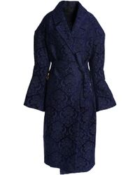 Mother Of Pearl - Chenille Jacquard Coat - Lyst