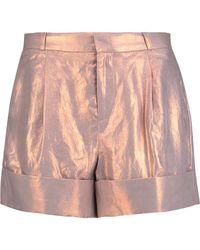 Raoul - Iridescent Coated-twill Shorts - Lyst