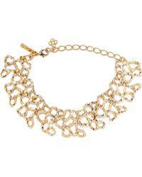 Oscar de la Renta - Gold-tone Necklace - Lyst