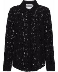 Moschino - Corded Lace Shirt - Lyst