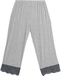 Cosabella - Lace-trimmed Jersey Pyjama Trousers - Lyst