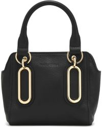 See By Chloé - Paige Mini Textured-leather Shoulder Bag - Lyst