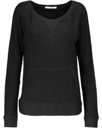 Yummie By Heather Thomson - Stretch Cotton And Modal-blend Sweater - Lyst