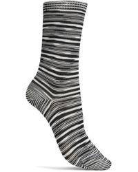 Missoni - Striped Knitted Socks - Lyst