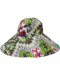 Just Cavalli - Cappello Pamela Printed Twill Hat - Lyst