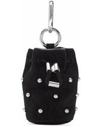 Alexander Wang - Studded Suede Keychain - Lyst