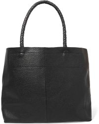 Maje | Textured-leather Tote | Lyst