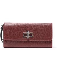 Carven - Mahler Textured-leather Wallet - Lyst