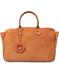 Carven - Suede Tote - Lyst