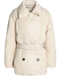 Jil Sander - Quilted Shell Down Coat - Lyst