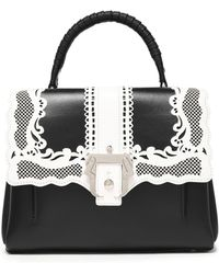 Paula Cademartori - Laser-cut Leather Shoulder Bag - Lyst