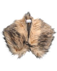RED Valentino - Faux Fur Scarf - Lyst