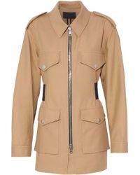 Alexander Wang - Cotton-twill Jacket - Lyst