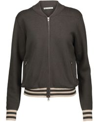 Autumn Cashmere - Cotton Bomber Jacket - Lyst