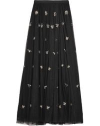 Needle & Thread - Lumiere Embellished Tulle Maxi Skirt - Lyst