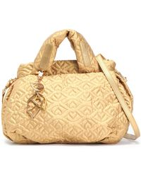 See By Chloé - Joyrider Bisou Quilted Metallic Shell Shoulder Bag - Lyst