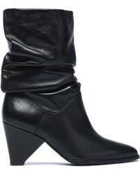 Stuart Weitzman - Leather Ankle Boots - Lyst
