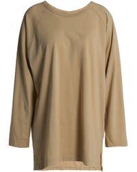 OAK - Oversized Cotton-jersey Top - Lyst