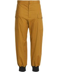 Marni - Cotton-blend Tapered Pants - Lyst