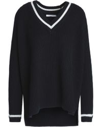 Chinti & Parker - Woman Wool Sweater Black - Lyst