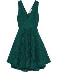 Sandro - Flared Woven Dress - Lyst