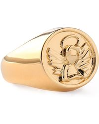 Noir Jewelry - Woman Gold-tone Ring Gold - Lyst