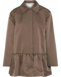 RED Valentino - Fluted Shell Jacket - Lyst